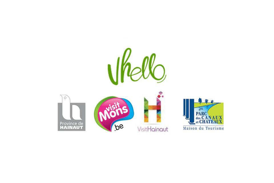Réalisation d'une banque d'images pour le réseau points-noeuds Vhello, dans la province du Hainaut
